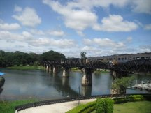 The Bridge Over The River Kwai at Kanchanaburi