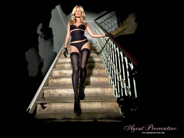 kate moss for agent provocateur