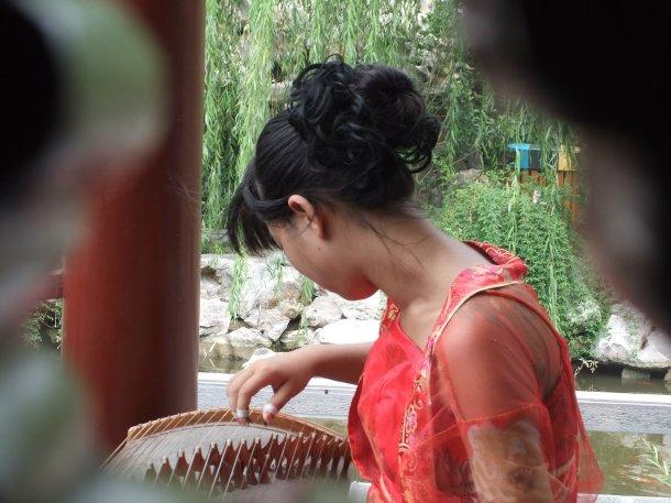 pretty lady in China