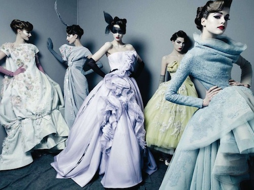 Dior Couture by Patrick Demarchelier - Source: Fashion Diary