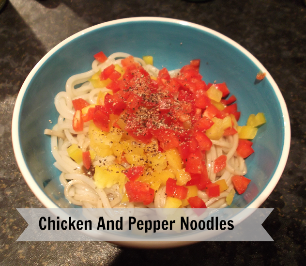 peppered noodles