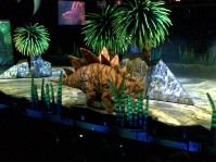 Stegosaurus! ...I think he saw us...