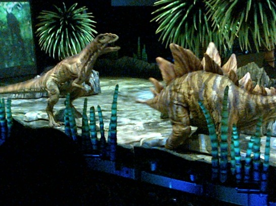 The Stegosaurus could take care of itself