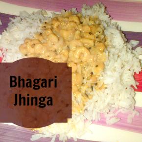 Bhagari Jhinga Recipe