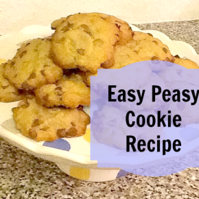 Easy Peasy Cookie Recipe