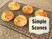 six fruit scones