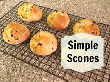 six fruit scones