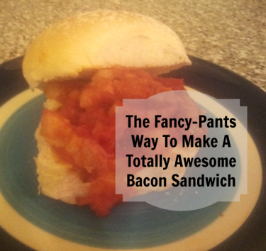 a bacon sandwich