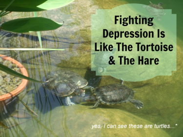 fighting depression one step at a time