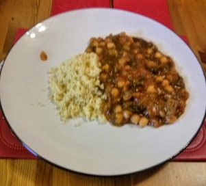 lamb spinach and couscous casserole
