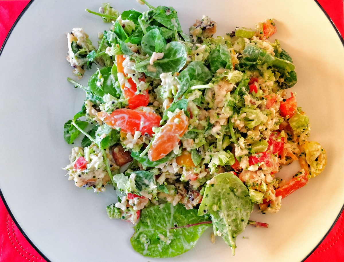 Smoked Salmon Quinoa Salad